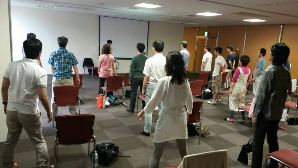 Mantak Chia Workshop Tokyo, Japan 2014