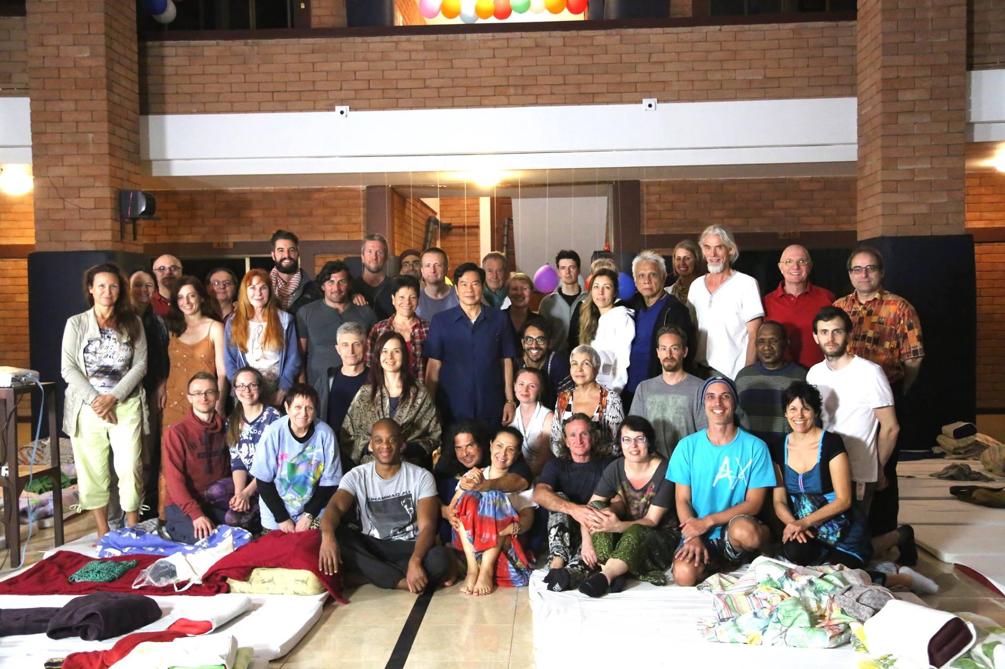 Group of students from Tao Garden Darkroom Retreat 2017 workshop