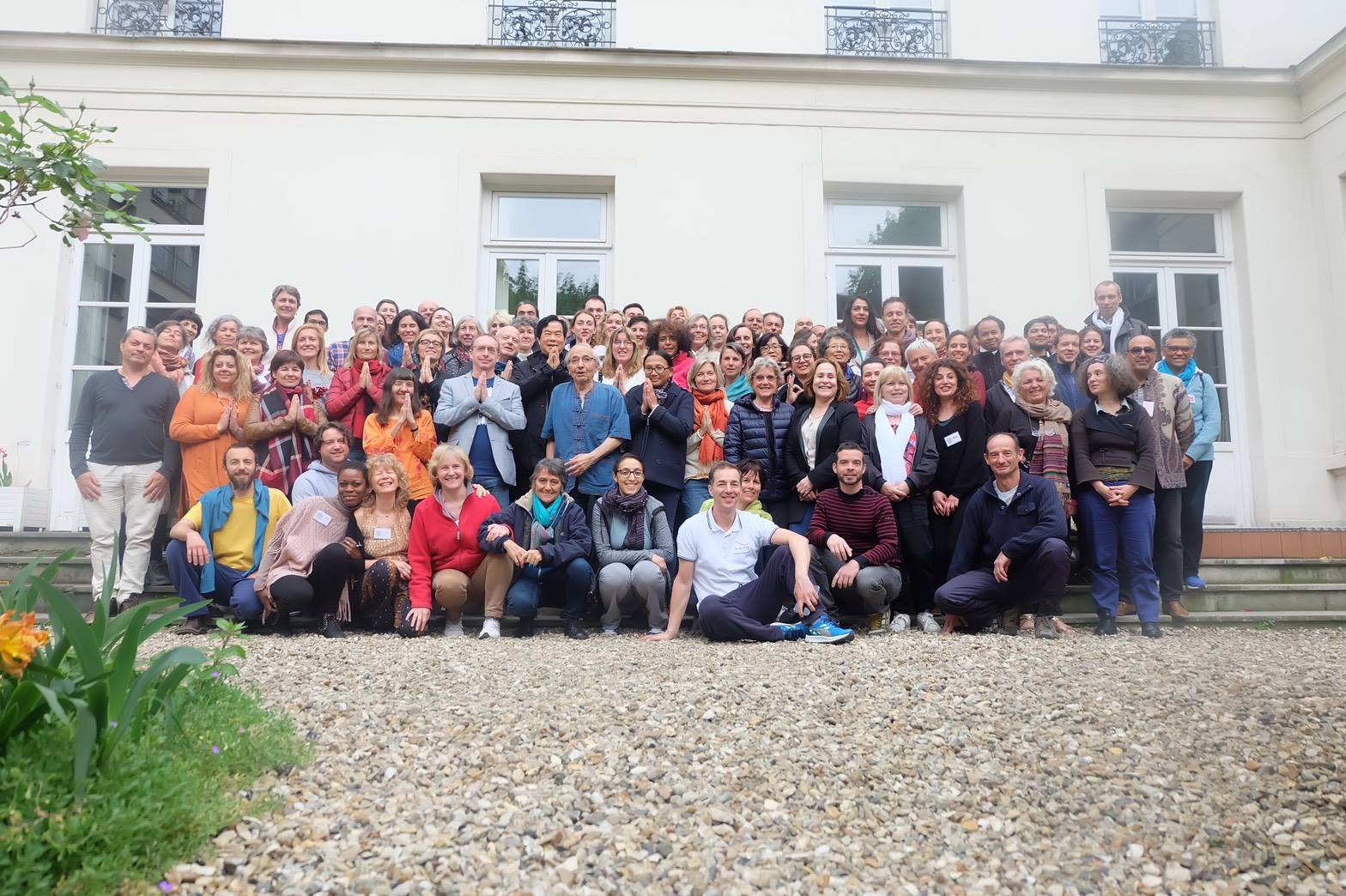 Group of students at European Spring 2017 in Paris, France