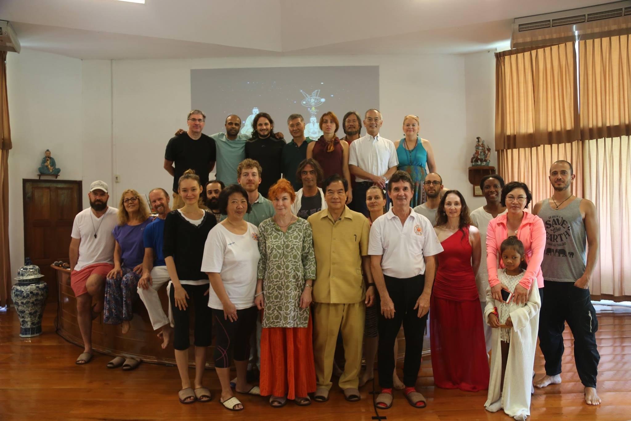 Group of students at Summer Retreat 2017 Week 3