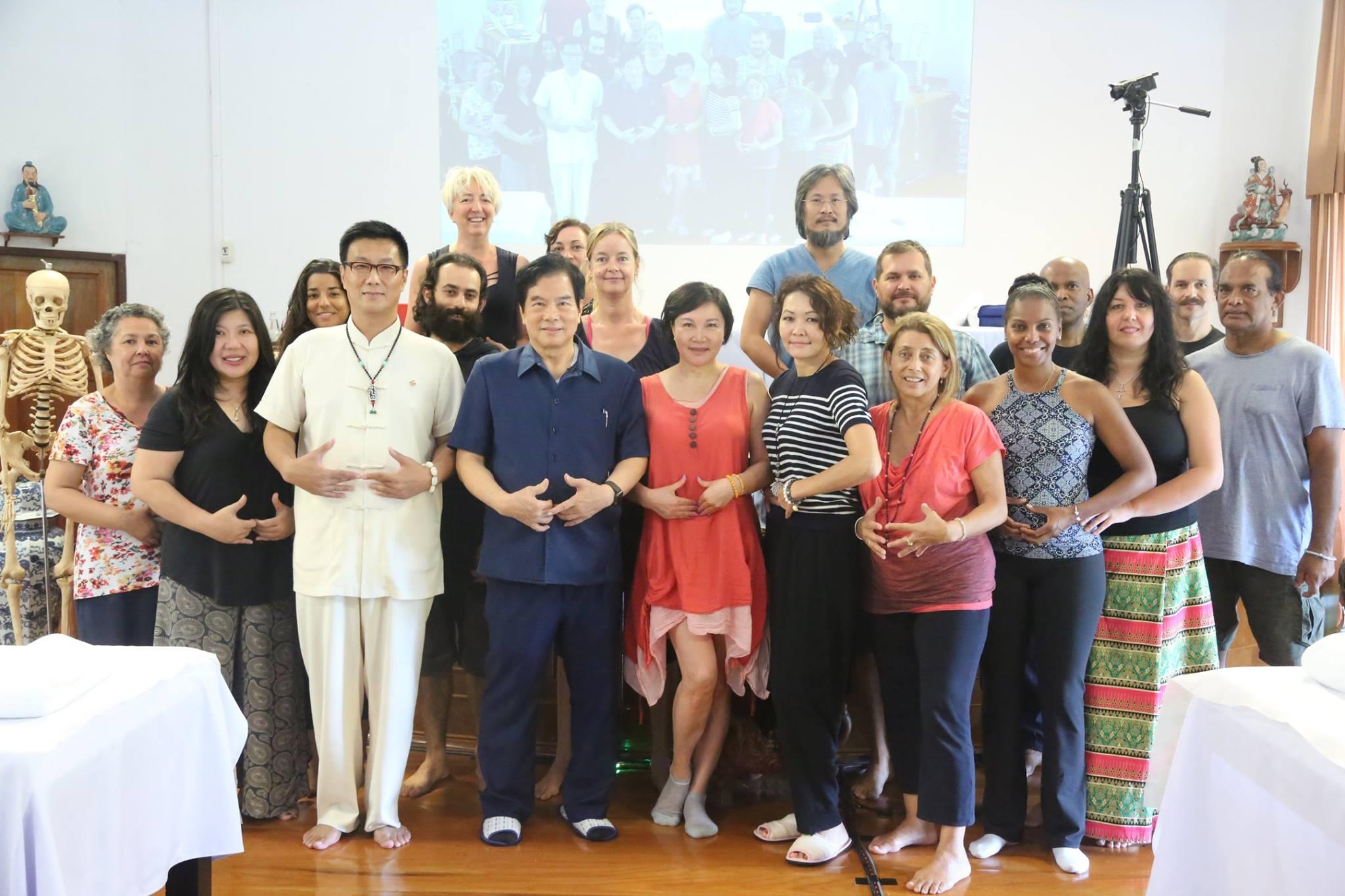 Group of students at Summer Retreat 2017 Week 6