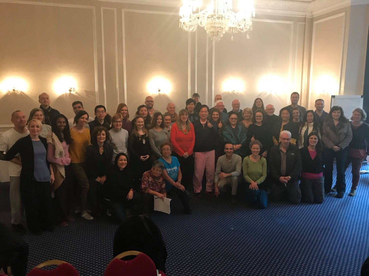 Group of students at European Fall 2017 in London, UK