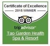 Certificate of Excellence 2015 TripAdvisor.com
