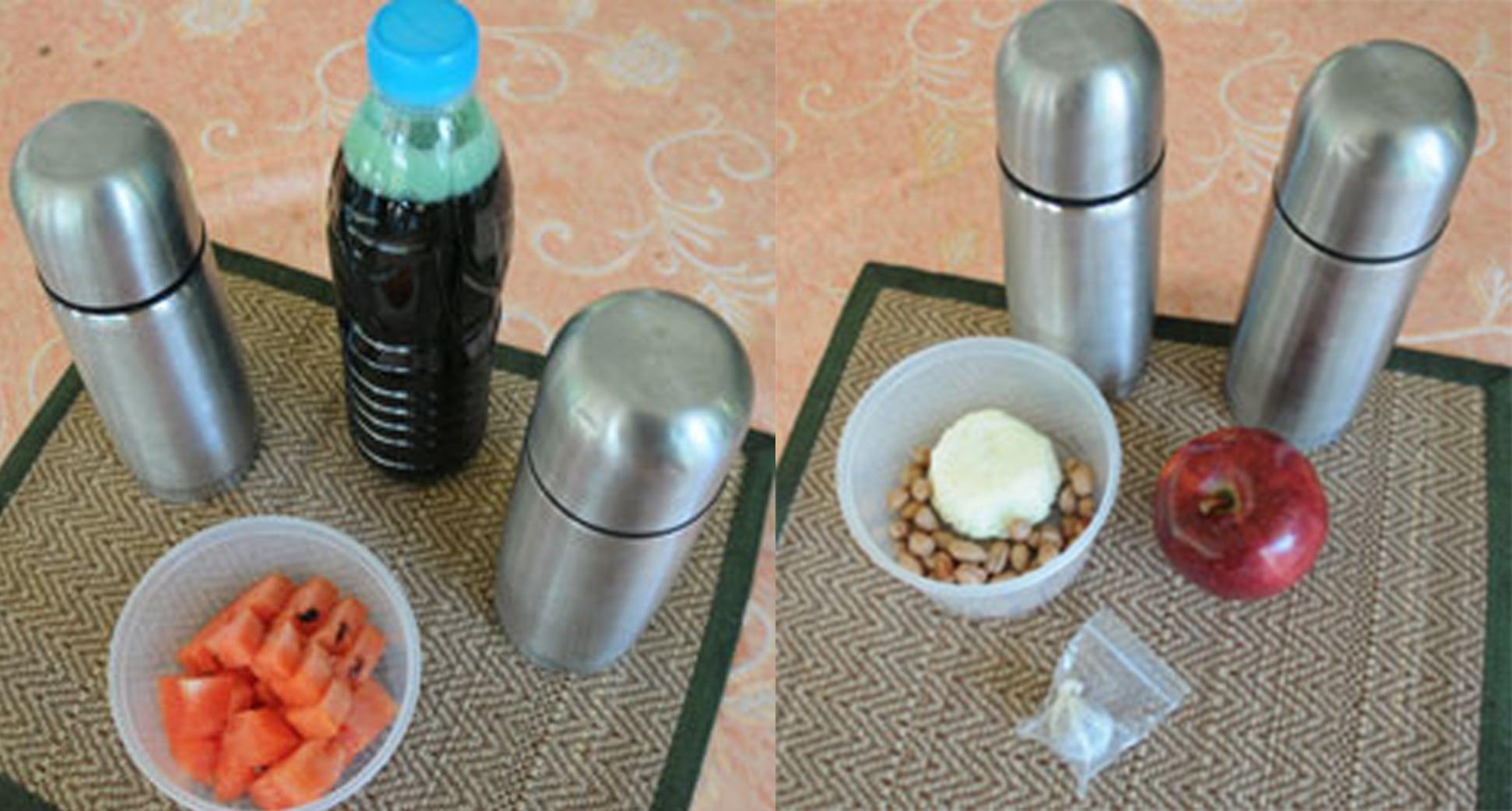 Darkroom Retreat Food –Apple, Watermelon