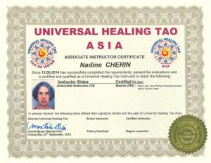 UHT Certification Copies – Nadine Cherin