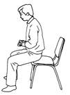 The Proper sitting posture