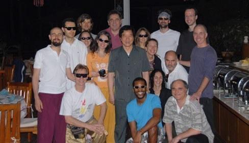 Darkroom Retreat Experience Group with Mantak Chia