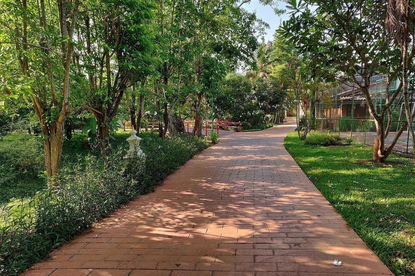 Tao Garden Health Resort and Spa – Jogging Path