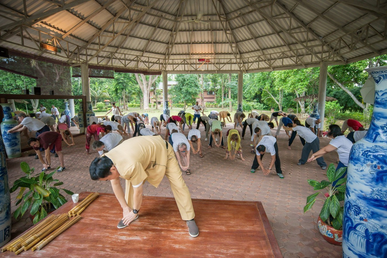 Tao Garden Health Resort and Spa – Morning Chi Kung Exercise