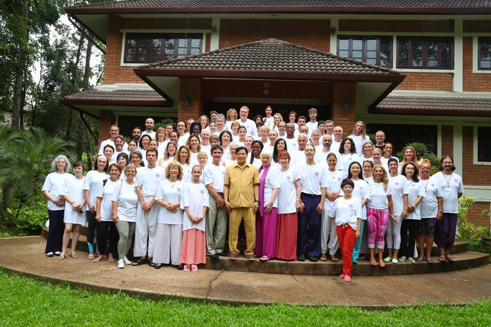 Back to the Source – Group Photo with Mantak Chia