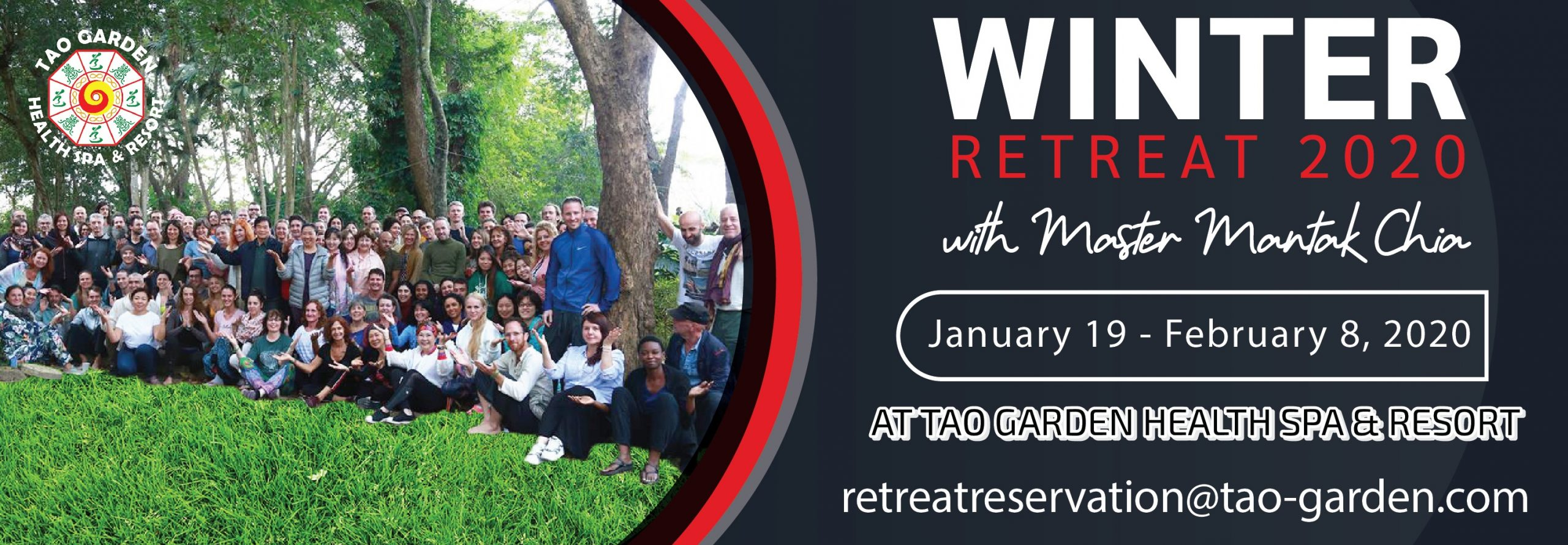 Winter Retreat 2020 with Master Mantak Chia at Tao Garden Health Spa & Resort