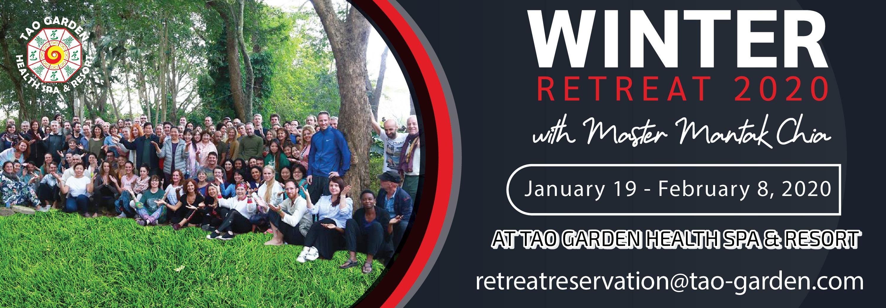 Winter Retreat 2020 with Master Mantak Chia at Tao Garden Health Spa & Resort