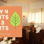 Stay 4 nights pay three nights Tao Garden